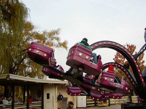 six flags great america ride information east river crawler