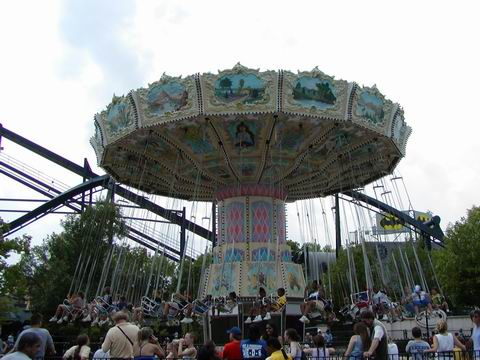 Six Flags Great America Ride Information Whirligig